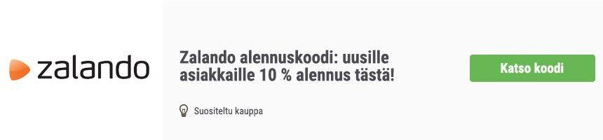 Zalando 10 euron alennuskoodi